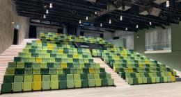 elokuvateatterin ja teatterin tuolit
