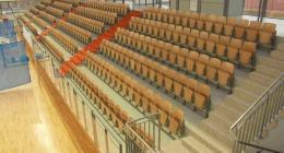 taitettavat stadionin istuimet Ergo prostar 20