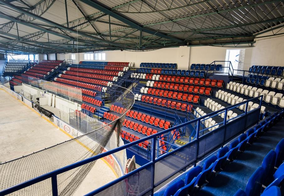 taitettavat stadionin istuimet Olimp-malli prostar 11